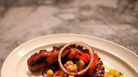 Octopus at MP Taverna restaurant in Roslyn. (June