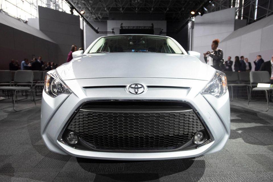 Toyota Yaris Hatchback. New York International Auto Show