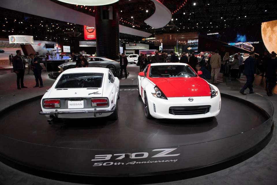 Nissan presented their 50th Anniversary 370Z alongside the