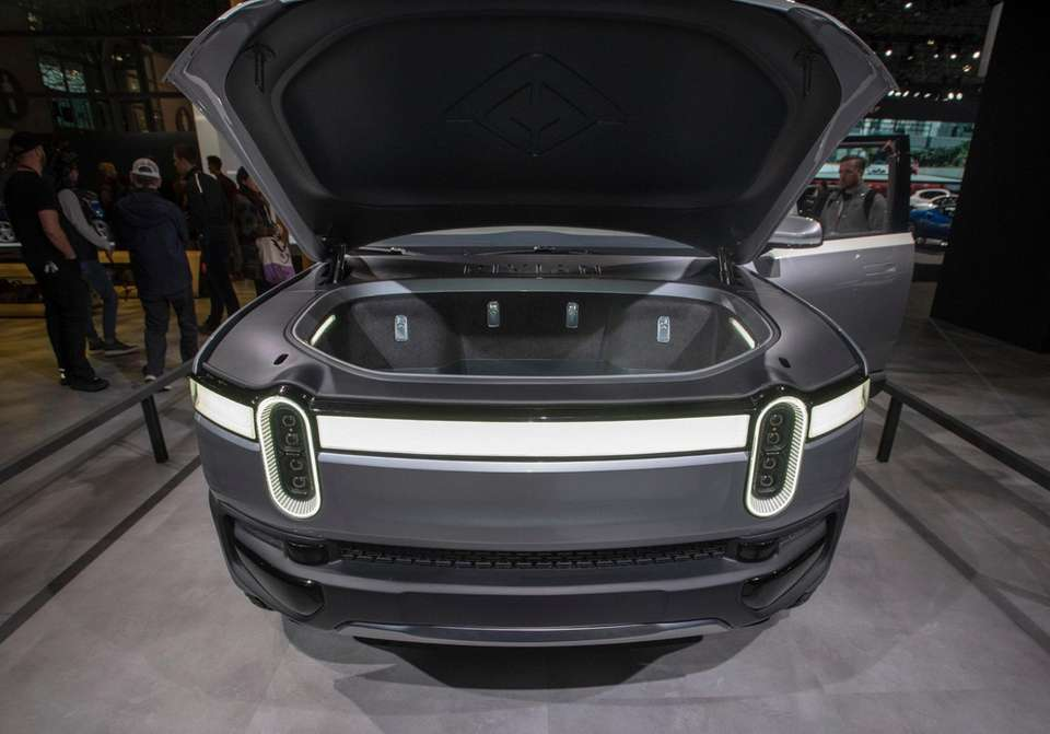 Rivian R1T All Electric 5 passenger pick-up Truck