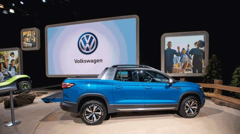 Newly introduced Volkswagon Tarok. New York International Auto