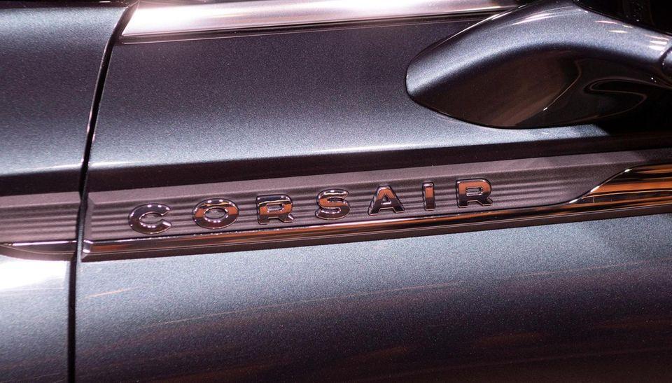 Lincon Corsair. Details. New York International Auto Show