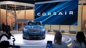 Lincoln Corsair. New York International Auto Show 2019