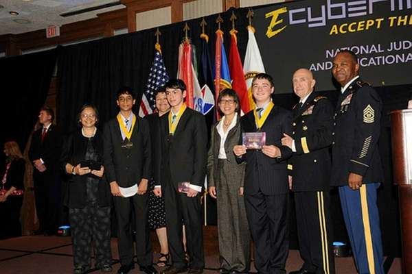 Team HUGE from Roslyn High School researched how