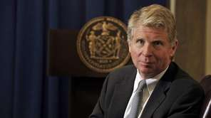 Manhattan District Attorney Cyrus Vance poses for Newsday