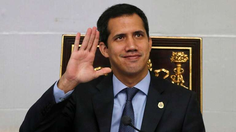 Juan Guaido, President of National Assembly and self-proclaimed