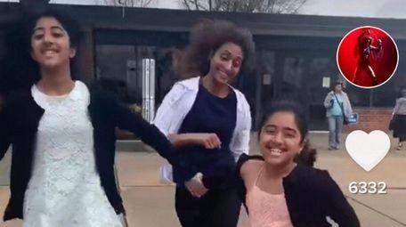 Varli Singh, 41, of Searingtown, makes TikTok videos