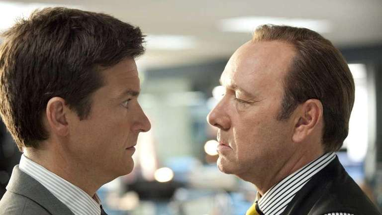 (L-r) Jason Bateman as Nick and Kevin Spacey