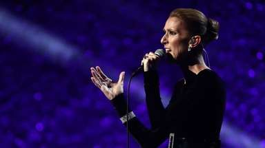 LOS ANGELES, CA - JANUARY 13: Celine Dion
