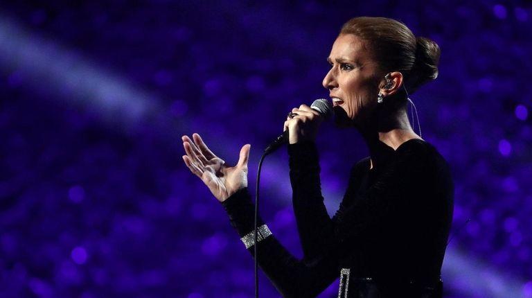 LOS ANGELES, CA - JANUARY 13: Celine Dion