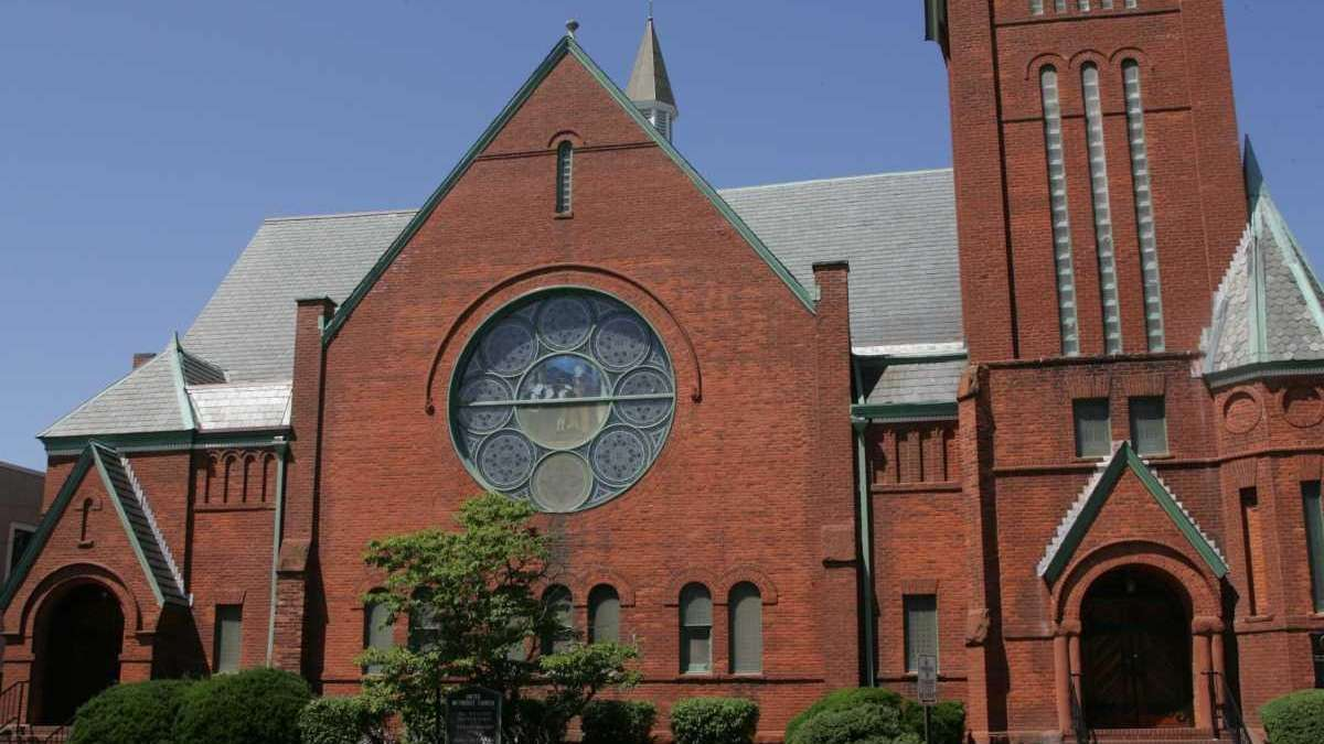 The United Methodist Church, at the intersection of