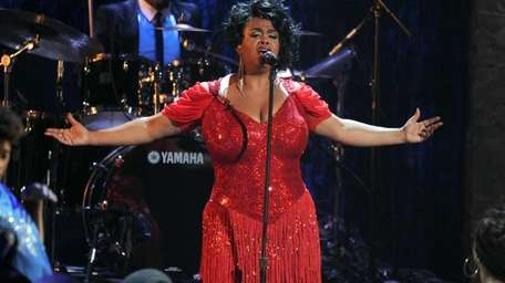 Singer Jill Scott performs onstage during the BET