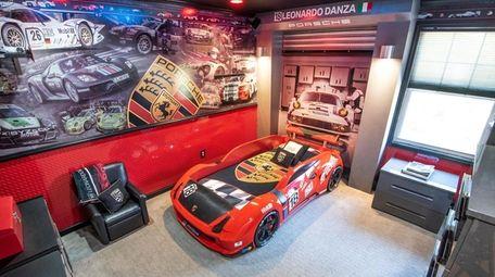 Leonardo Danza's bedroom in Holbrook.