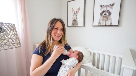 Jennifer Halpern and daughter, Lillyan.