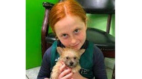 Kidsday reporter Hailey Groth, of Westhampton Beach Elementary