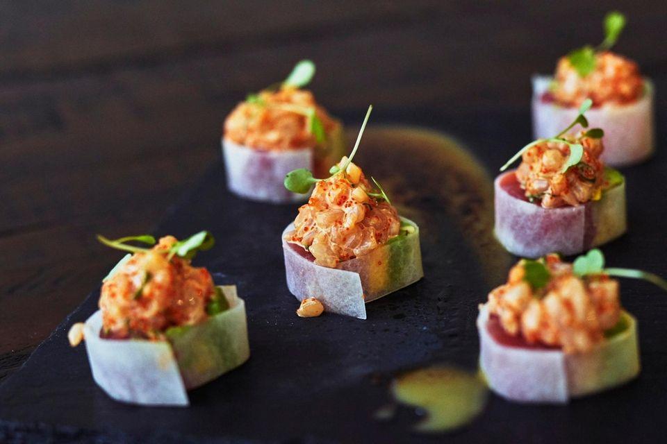 Tiga, Port Washington: This sushi spot takes raw