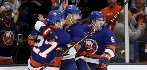 The Islanders played quarterfinal games at NYCB Live's