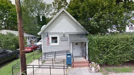 This Google Maps image shows the U.S. Post