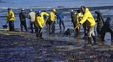 A major oil spill off of Santa Barbara,