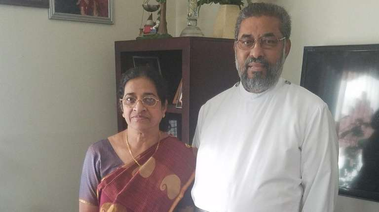 The Rev. T. Chacko Mammen with his wife,