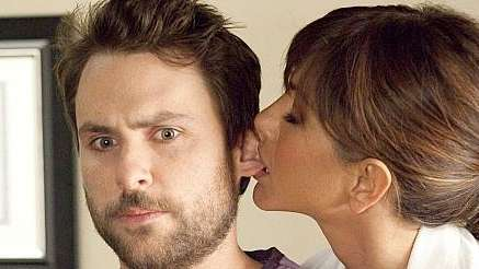 Charlie Day and Jennifer Aniston in