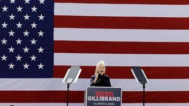 Sen. Kirsten Gillibrand (D-N.Y.) at the official kickoff