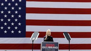Sen. Kirsten Gillibrand (D-N.Y.) at the official kickoff