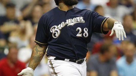 PRINCE FIELDER First base, Milwaukee Brewers 2011: 22