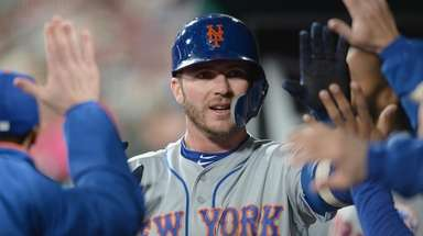 ST. LOUIS, MO - APRIL 19: Pete Alonso