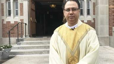 The Rev. Prasanna W. Costa, at the Church