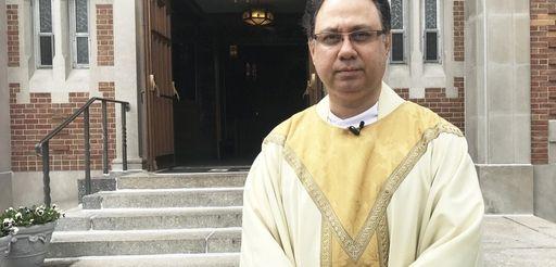 The Rev. Prasanna W. Costa, at the Church