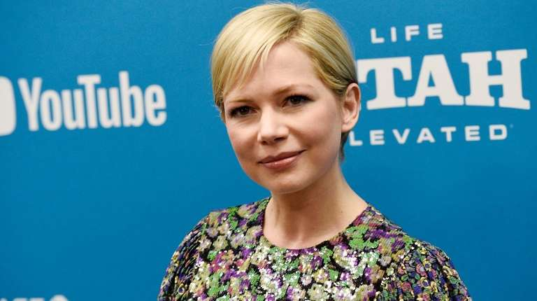 "Michelle Williams poses at the premiere of ""After"