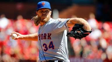 ST. LOUIS, MO - APRIL 21: Noah Syndergaard