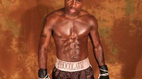Super middleweight contender Peter Quillin poses. July 6,