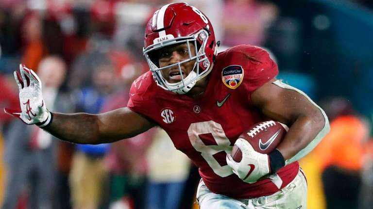Image result for josh jacobs nfl draft