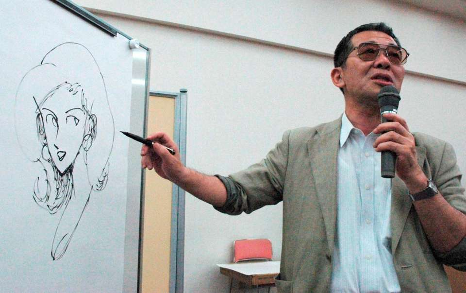 Cartoonist Monkey Punch, best known as the creator