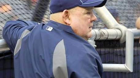 Don Zimmer of the Tampa Bay Rays during