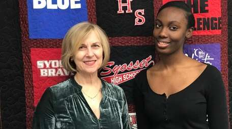 Syosset High School junior Chika Brown, the state