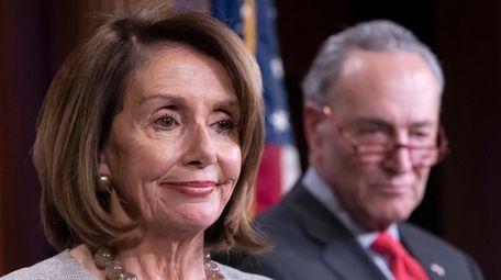 Democratic House Speaker Nancy Pelosi and Democratic Senate