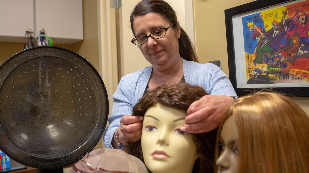 The Long Island-based nonprofit Hair We Share collects
