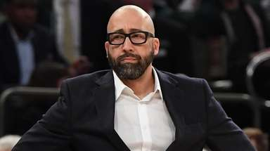 Knicks head coach David Fizdale against the Detroit