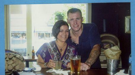 Megan Erickson and her husband John Erickson, who
