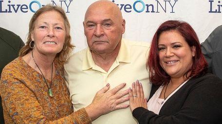 Heart transplant recipient Robert Pascarelli, 66, of Norwalk,