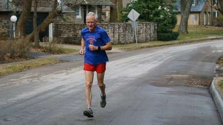 Gene Dykes is a 71-year-old competitive marathon and