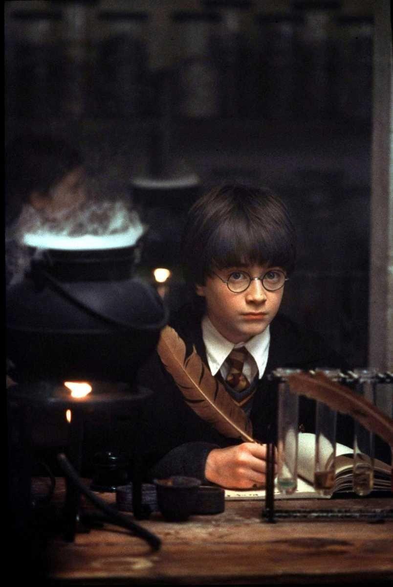 Director Chris Columbus creates the wizarding world that