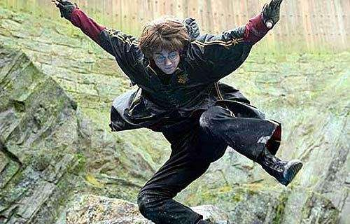 This year, Hogwarts participates in the Triwizard Tournament,