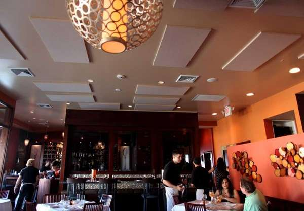 Patrons dine at Mitch & Toni's, 875 Willis