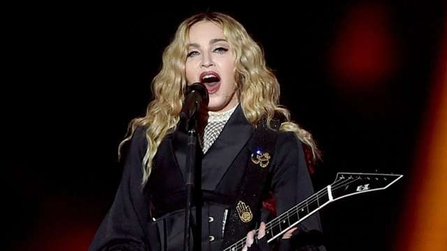 Madonna in 2015 in Inglewood, Calif.