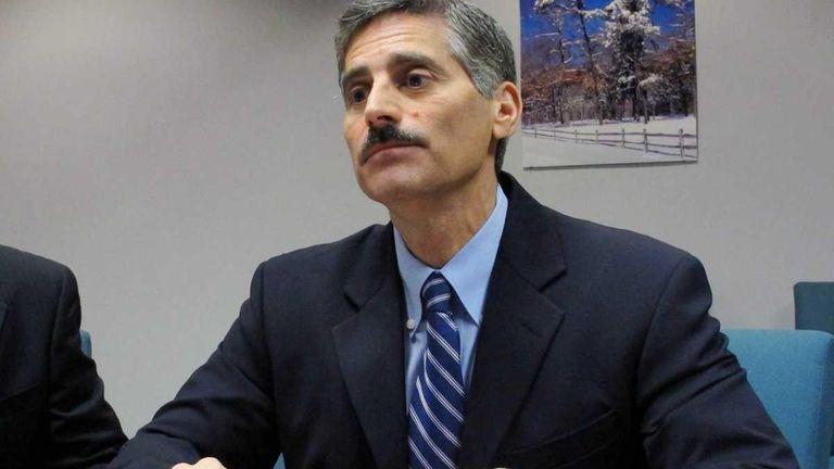 Suffolk County Executive Steve Levy.