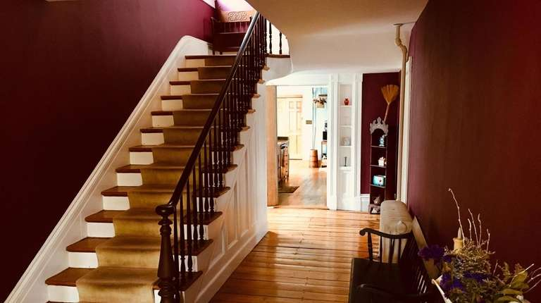 Inside the Wantagh home.